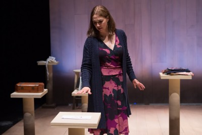 "A daughter's grief: Holly Twyford as Vivienne Avery in ""Blackberry Winter."", Photo Credit: Teresa Wood Photography"