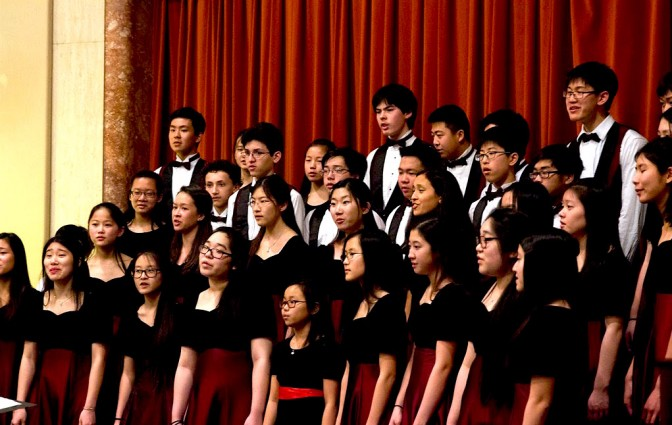 GCC-Concert and Chamber Choirs Combined, Photo Credit: Jonathan Hsu