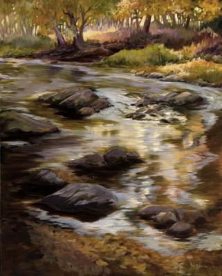 """Muddy Branch Creek"" by Donna Baron"