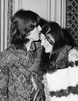 Freda Kelly and George Harrison, Photo Courtesy of Freda Kelly