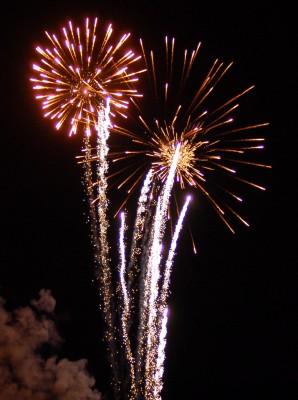 Fireworks at Rockville's Independence Day Celebration