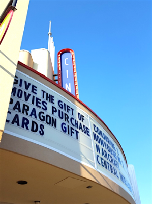 Paragon Theaters Marquee, Photo Credit: Lisa Cline