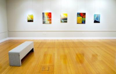 Gallery wall at Crossroads: Magic + Matter