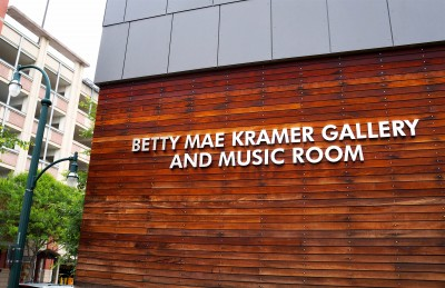 Silver Spring Civic Building, home to the Betty Mae Kramer Gallery and Music Room
