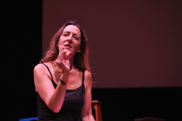 Parent, playwright, performer, professor: Deb Margolin brings her one-woman show to Wheaton.