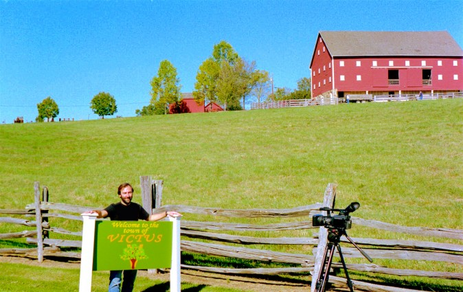 "The Agricultural History Farm Park in Derwood became ""Victus Orchards"" in the new mockumentary by Barry Worthington entitled, ""The Infinitely Generous Francis Victus."""
