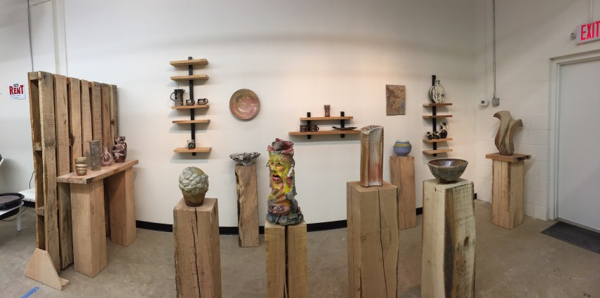 "Work by 28 clay artists from the D.C. area was featured in the ""Proximity"" exhibit."