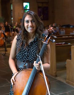Cellist Preetcharn Saund