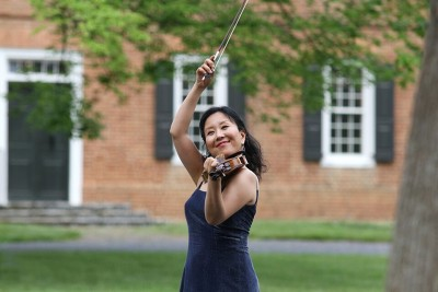 "Violinist Akemi Takayama will be the soloist in NOW's performance of Edouard Lalo's ""Symphonie Espagnole."""