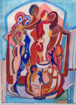 Helene Glass' artwork