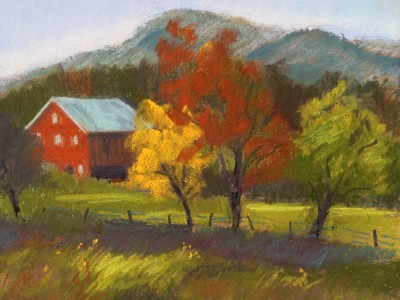 "Pastels and Porcelains in Clarksburg will take part in the Countryside Artisans tour. Visitors will be able to view and purchase artists Penny McCrea's pastels — who painted ""Barnesville View"" — as well as the work of potter Michael Cohen Holdahl."