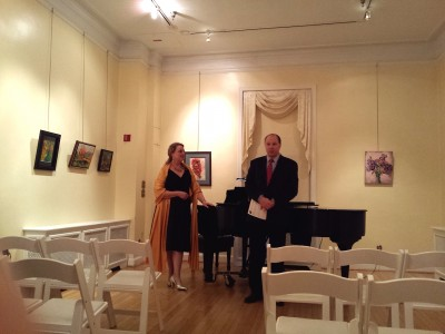 """Kay Krekow played piano in """"She is Music: Divas' Song"""" show in March at the Kentlands Mansion."""