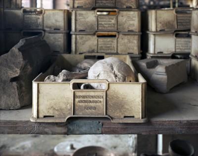 """William Wylie, #15-003, """"Pompeii Archive,"""" archival pigment print, 30"""" x 40"""""""
