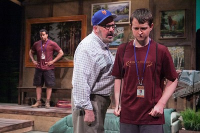 """Rick Foucheux in Theatre J's""""Another Way Home"""" (2016)."""