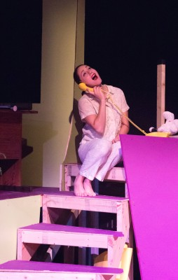 Crying over spilt nukes: Julia Klavans as Toffee.