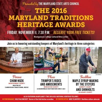 Maryland Traditions Heritage Awards Culturespotmc Com