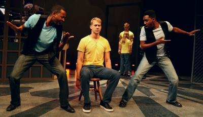 Aarron Loggins (ASL Cousin Kevin), Russell Harvard (Tommy) and Carl Williams (Cousin Kevin).