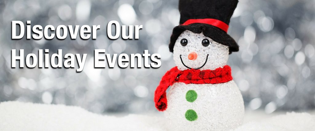 Holiday Events Banner