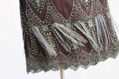 Intricate beading adorned many flappers' evening wear.