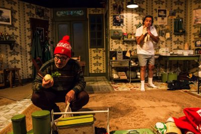 "Bedsit blues: David Dubov and Matthew Vaky play pals in Conor McPherson's ""The Night Alive."""