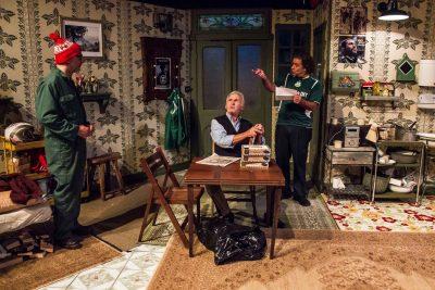 David Dubov, Joe Palma and Matthew Vaky play Dubliners.