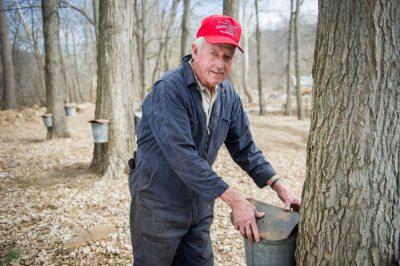 Leo Shinholt at Maple Camp in Corriganville, MD.