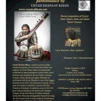 Muisc Performance by Ustad Shafaat Khan