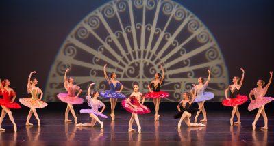 A scene from Akhmedova Ballet Academy's spring show.
