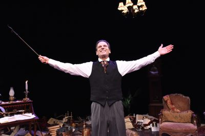 "Spirits in the night: Paul Morella takes on Charles Dickens' ""A Christmas Carol"" at Olney Theatre Center."