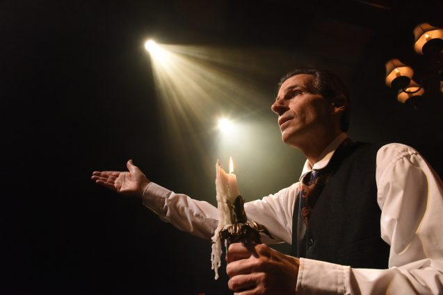 "Festival of light: Morella says the dark aspects of ""A Christmas Carol"" allow audiences to better appreciate its lightness."
