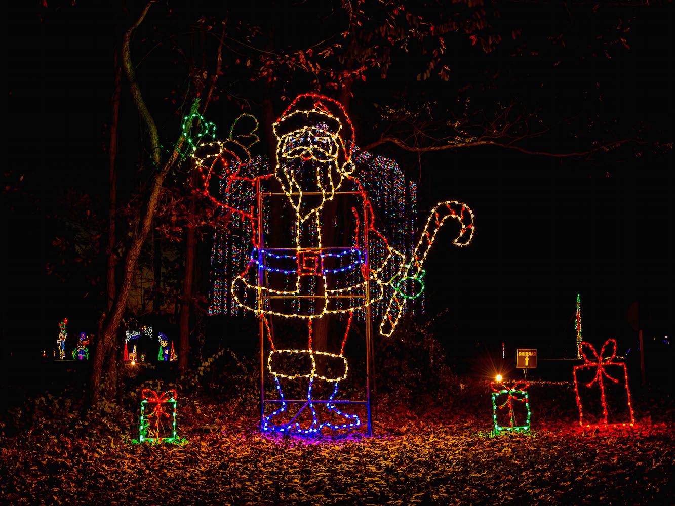 Winter Lights Festival in Gaithersburg.