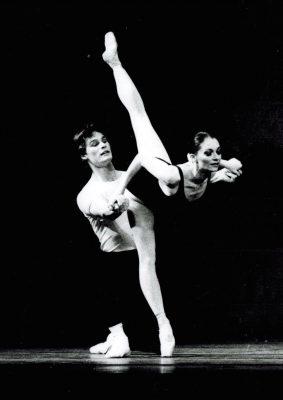 Jacqueline Akhmedova dancing in 1996.