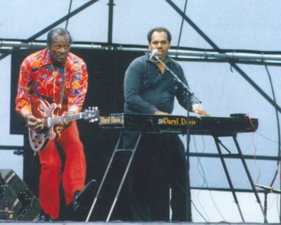 Chuck Berry and Daryl Davis.