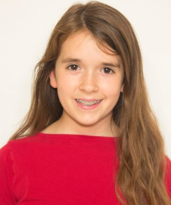 """Grace Bullard played Chip in Imagination Stage's holiday production of """"Beauty and the Beast."""""""