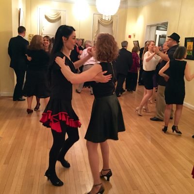 Dancing the night away at last year's Winter Waltz Ball.