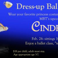 Dress-up Ballet Tea Party at Metropolitan Ballet Theatre