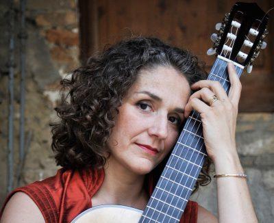 Classical guitarist Antigoni Goni.