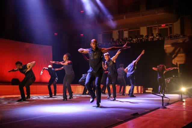 Step Afrika! Step Xplosion in concert.