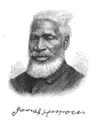 An 1876 engraving of the Reverend Josiah Henson.