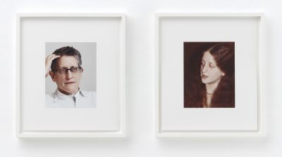 """From """"a.k.a."""" (2008–2009), 15 pairs of ink-jet printed photographs, each 15 by 13 inches, ©2016 Roni Horn"""
