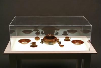 Michael Brolly mined his Irish heritage to create this embellished table.