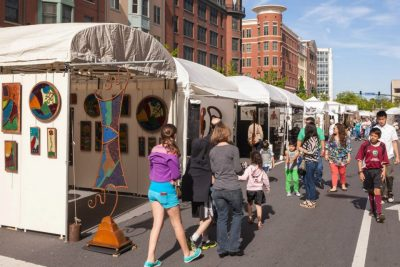 A view of last year's A-RTS at Rockville Town Square Fine Art Festival.