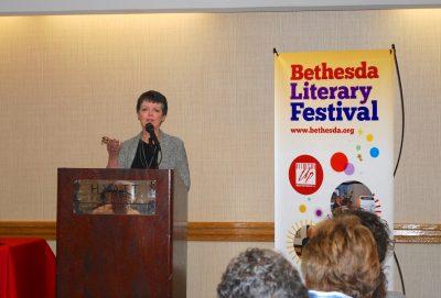 Alice McDermott at the Bethesda Literary Festival in 2015.