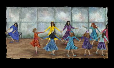 """Joyful Dancing"" by Ronni Jolles."