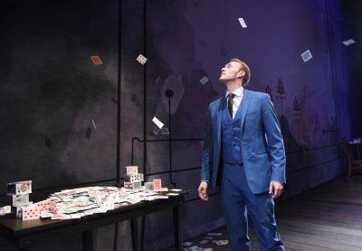 Brett Schneider as The Magician.
