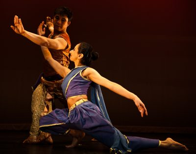 "Khilton Nongmaithen and Nili Shah in ""Stories in Movement,"" 2010."