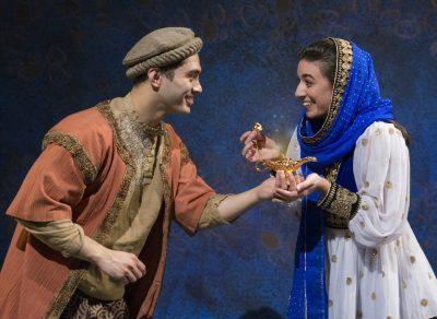 Ryan Carlo as Aladdin and Ariana Kruszewski as Adora.