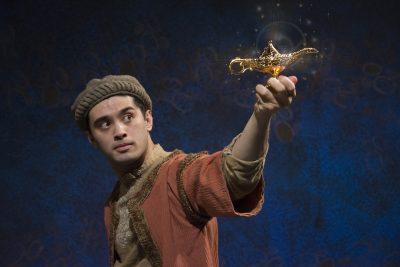 Ryan Carlo as Aladdin.