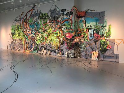 """Civic Body,"" Amanda Burnham's installation at VisArts."