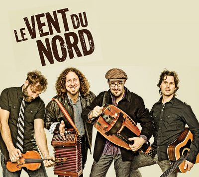 Le Vent du Nord (from left) Olivier Demers, Réjean Brunet, Nicolas Boulerice and Simon Beaudry.
